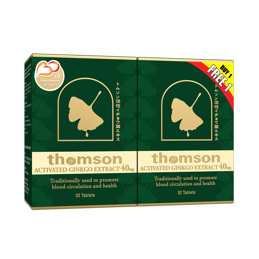 Thomson A.G.E 40mg 2 x 30s (Buy 1 Free 1)