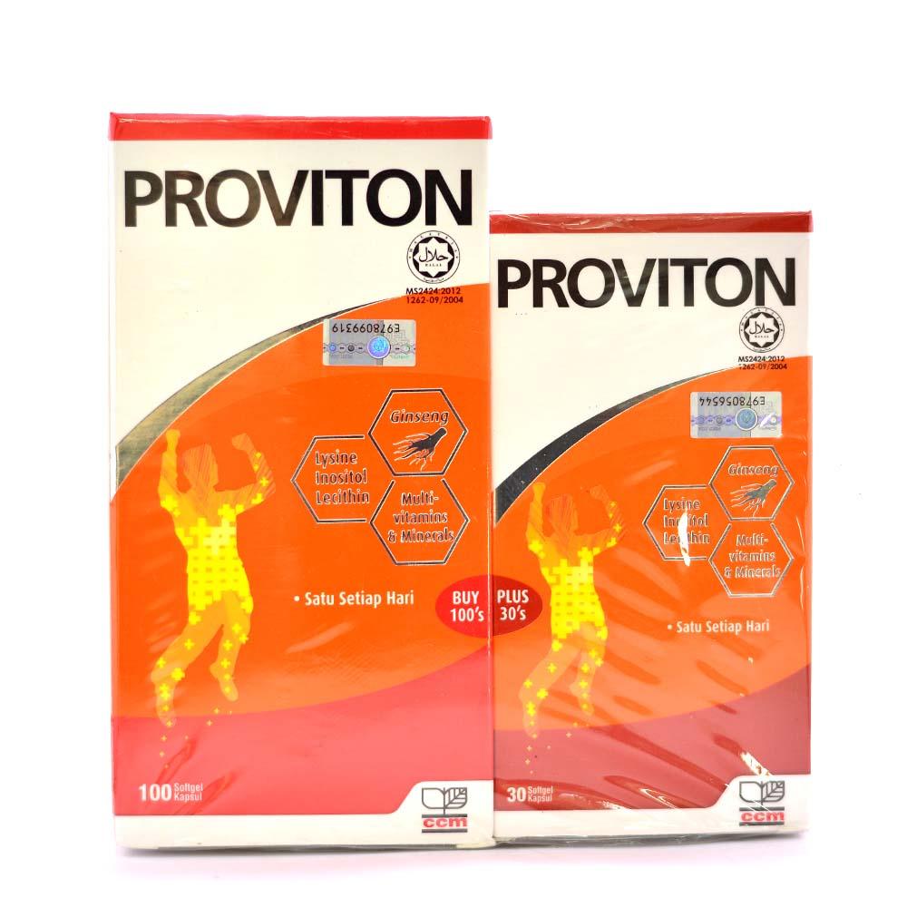 Proviton Capsule 100s + 30s