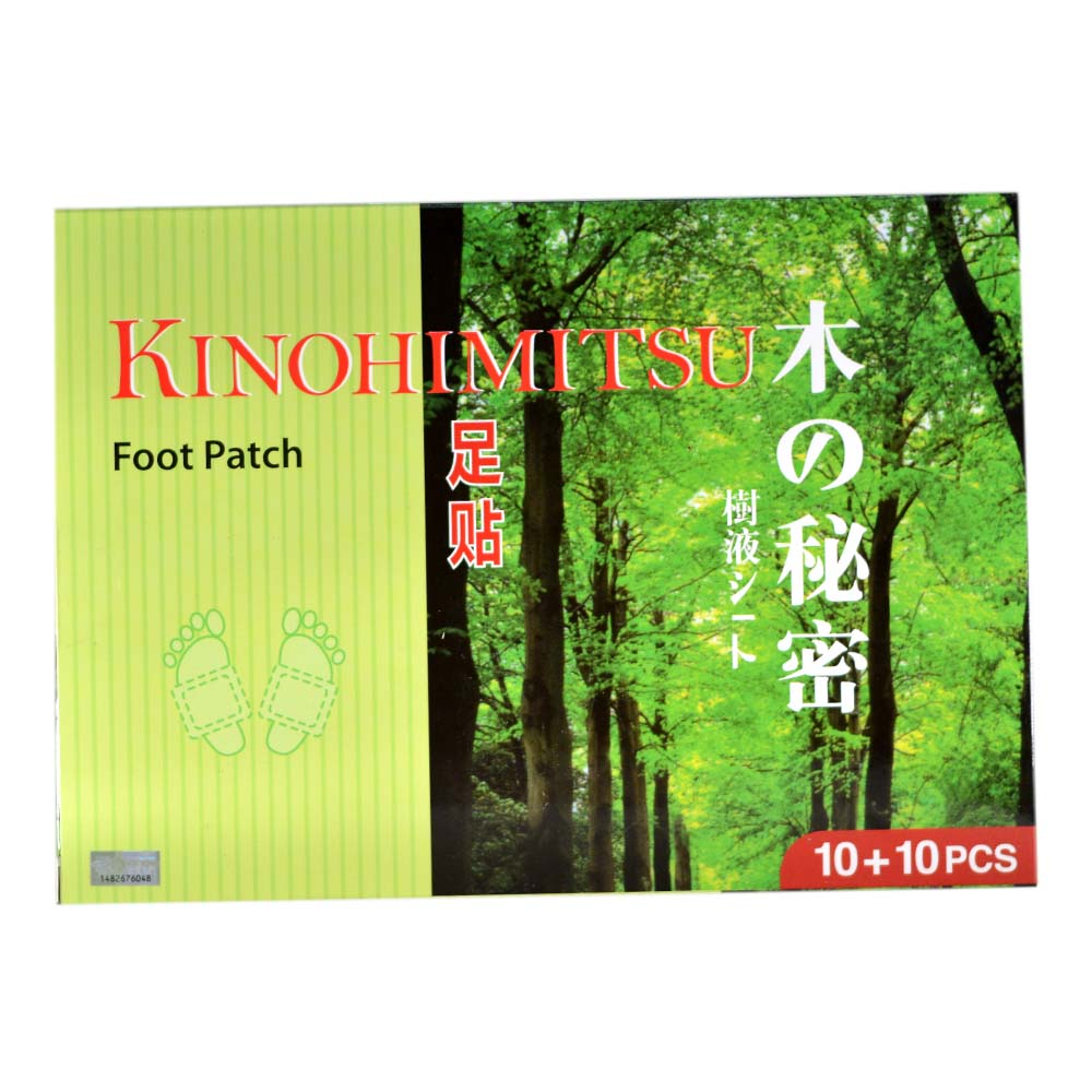 Kinohimitsu Foot Patch 10 + 10s