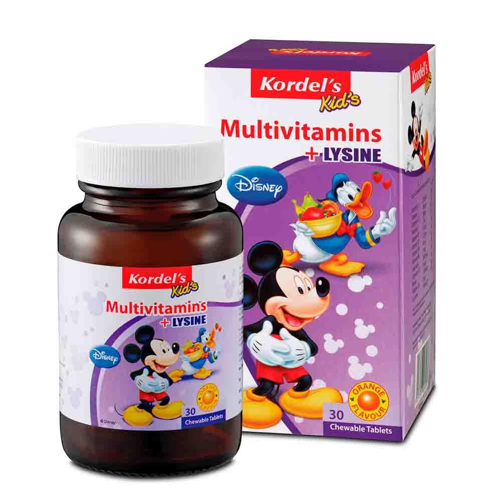 Product Listing Appeton Lysine Syrup Kordels Kids Multivitamin Tablets 30s Rm 3300 120ml