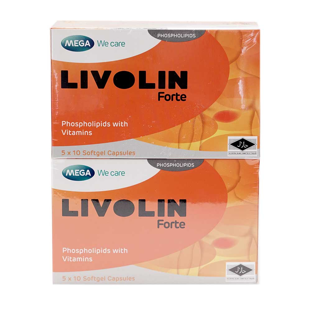 Medicinal product Livolin forte - effective protection of the liver