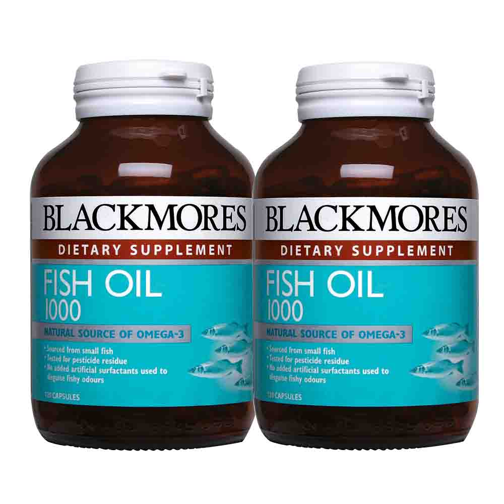 Health shop blackmores fish oil 1000 2 x 120s for Fish oil joint pain